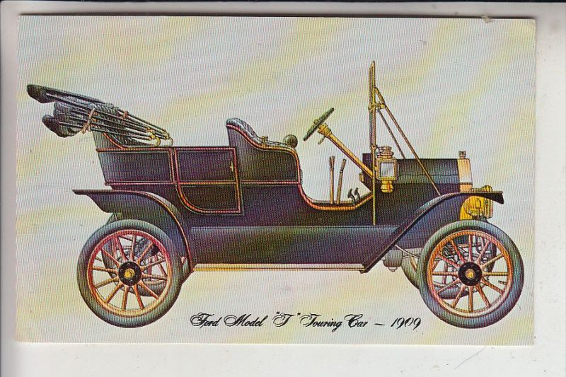 AUTO - FORD Model T Touring Car 1909