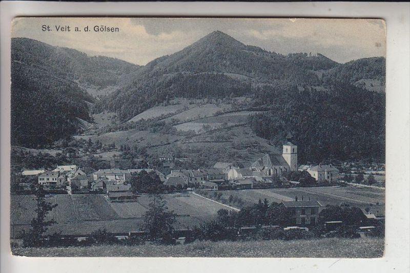 A 3161 SANKT VEIT AN DER GÖLSEN, Ortsansicht, 1907
