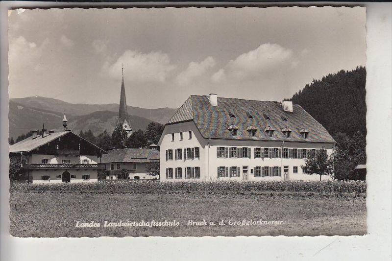 A 5671 BRUCK AN DER GROSSGLOCKNERSTRASSE, Landes Landwirtschaftsschule, 1955