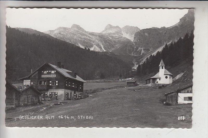 A 6166 FULPMES, Schlicker Alm