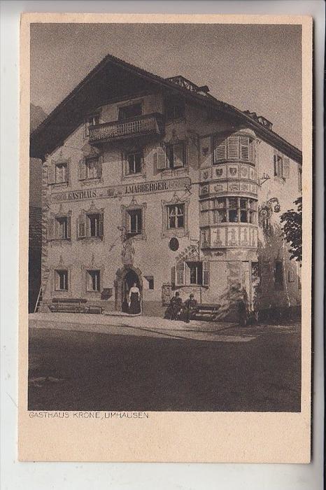 A 6441 UMHAUSEN, Gasthaus zur Krone
