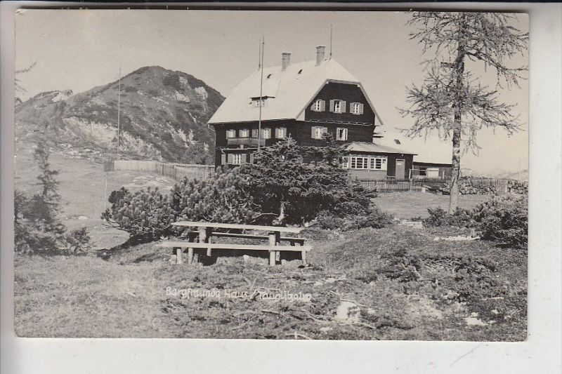 A 8982 TAUPLITZ, Tauplitzalm, Bergfreundehaus, 1936