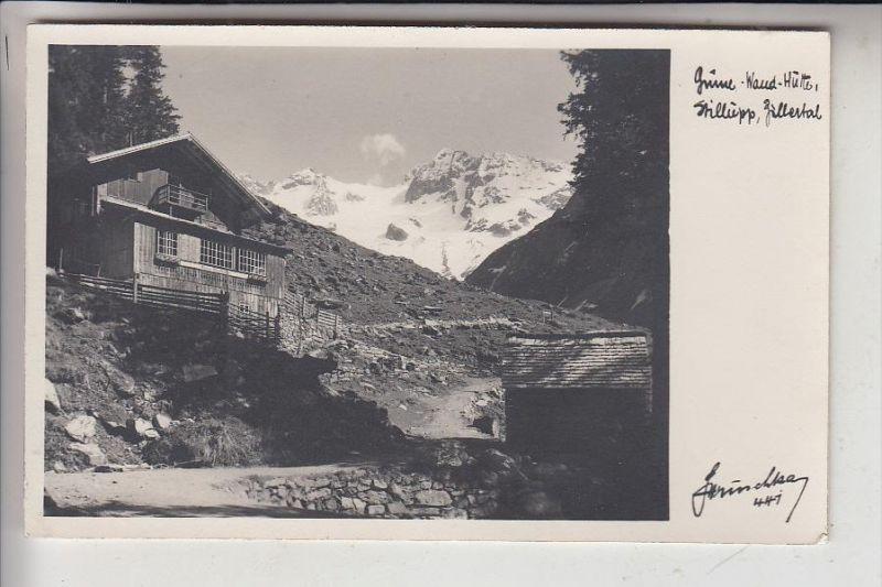 A 6290 MAYRHOFEN, Stillupptal, Grüne Wand Haus