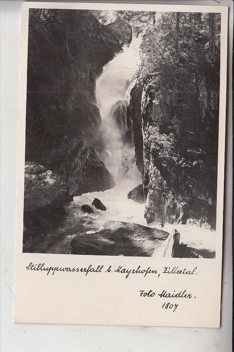 A 6290 MAYRHOFEN, Stillupptal, Stilluppwasserfall