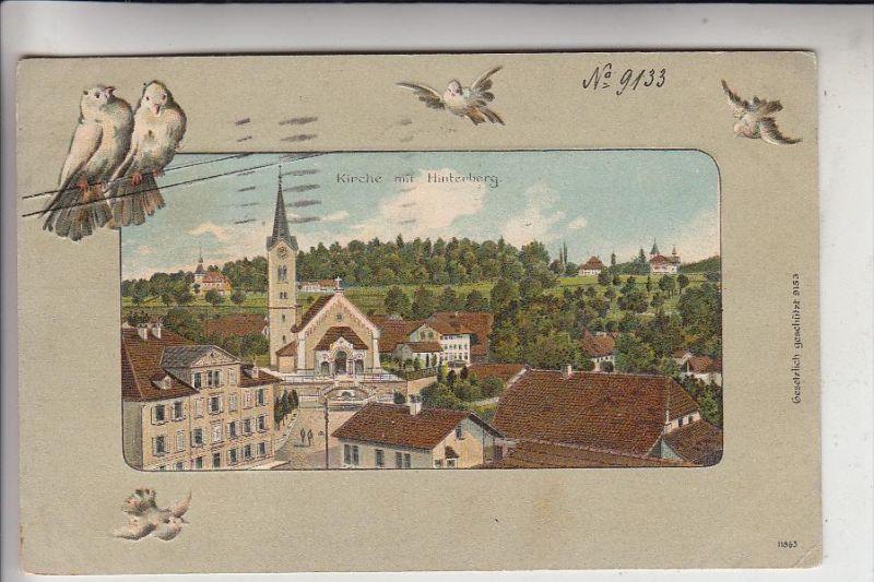 TIERE - VÖGEL - TAUBEN / Deaf / Sourds / Sordi / Doof / Sordo - geprägt / embossed / relief, 1909