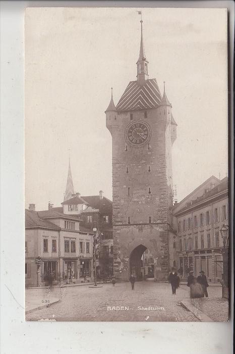 CH 5400 BADEN; Stadturm