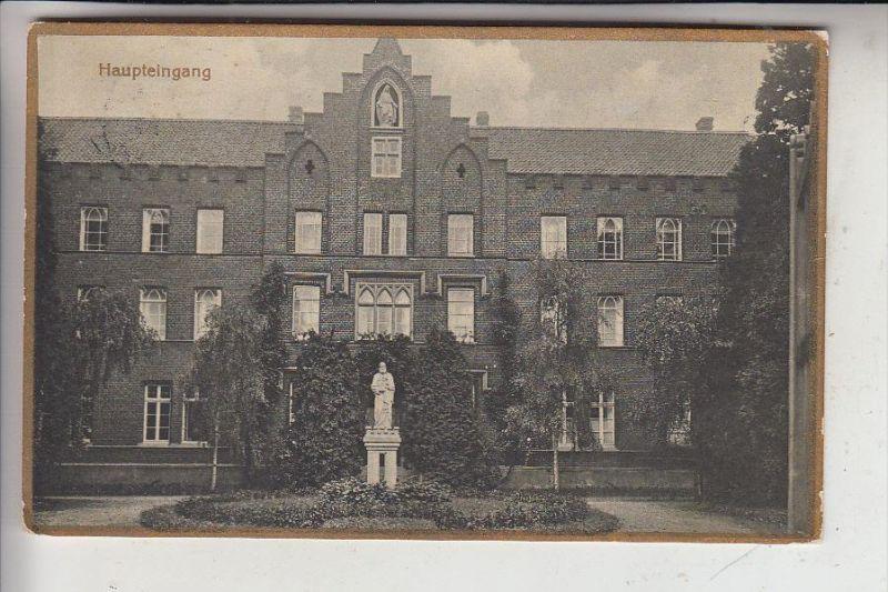 4170 GELDERN - KAPELLEN, Kloster St. Bernardin, Haupteingang, 1932