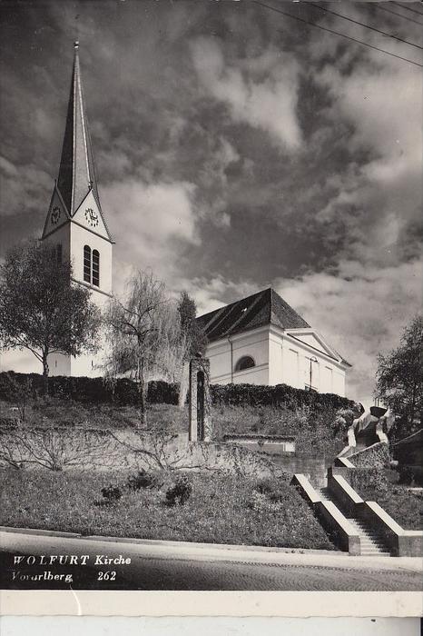 A 6922 WOLFURT, Kirche