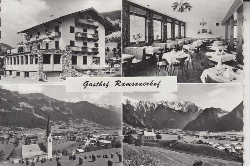 A 6283 RAMSBERG - HIPPACH, Gasthaus-Pension Ramsauerhof