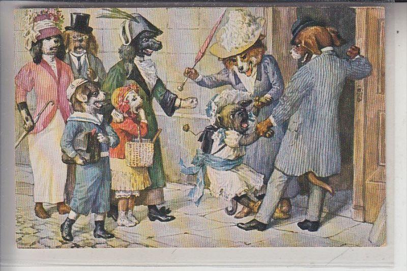 KÜNSTLER - ARTIST - Arthur Thiele, Theo Stroefer Nürnberg, Serie 1729