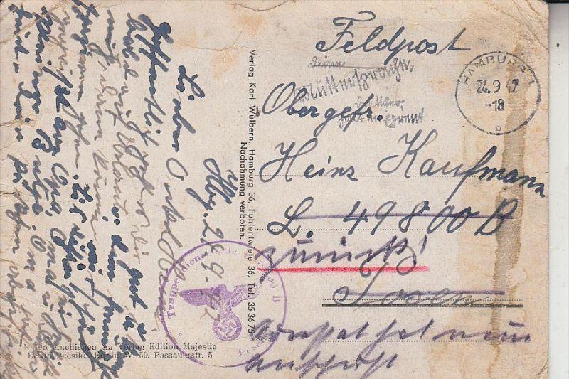 MILITÄR - Feldpost 2.Weltkrieg, L 49800 B, Luftwaffen Inf. Reg. Luftgau Kommando Moskau,