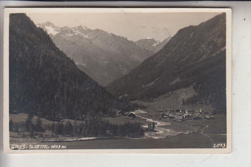 A 6444 LÄNGENFELD - GRIES, Sulztal, Ortsansicht