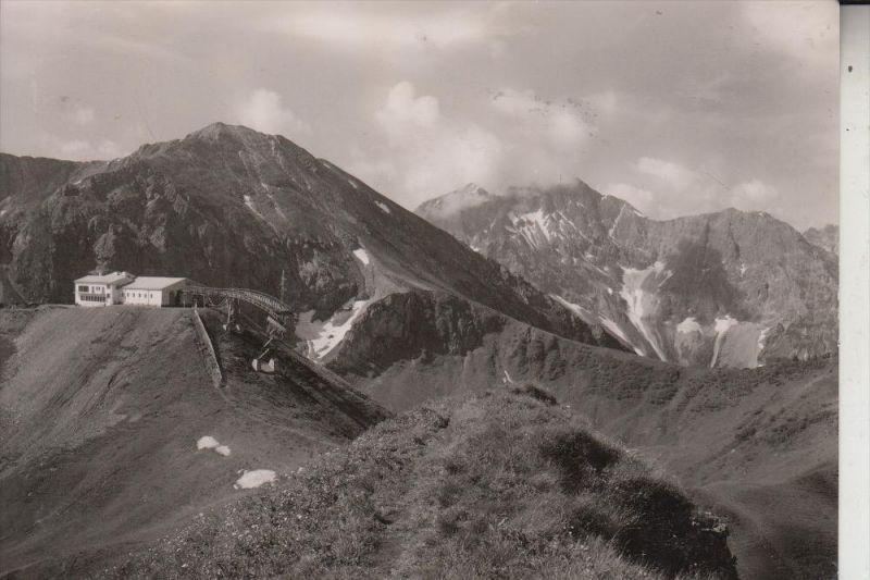 A 6991 RIEZLERN, Kanzelwandbahn, Bergstation, 1958
