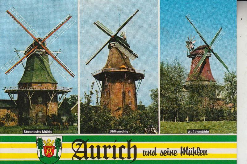 WINDMÜHLE / Mill / Molen / Moulin - AURICH