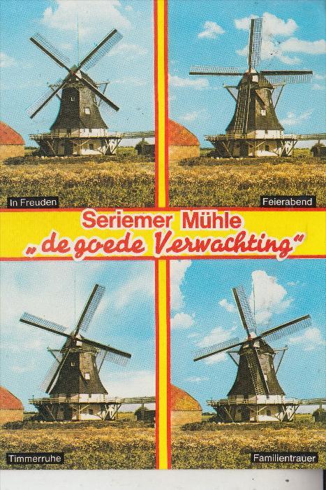 WINDMÜHLE / Mill / Molen / Moulin - NEUHARLINGERSIEL - Seriemer Mühle