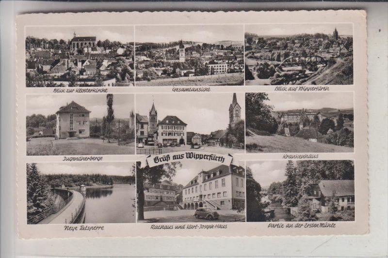 5272 WIPPERFÜRTH, Mehrbildkarte, 195...