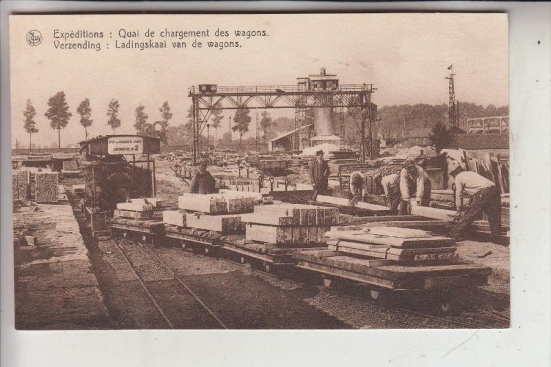 EISENBAHN - KLEINBAHN, Carrieres du Hainaut, Soignies
