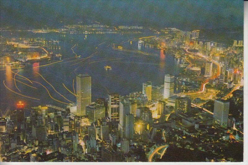 CHINA - HONGKONG, evening Victoria Bay