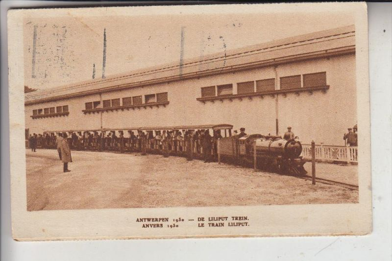 EISENBAHN - Kleinbahn / Liliput Trein / Mini Railway - Expo 1930 Antwerpen
