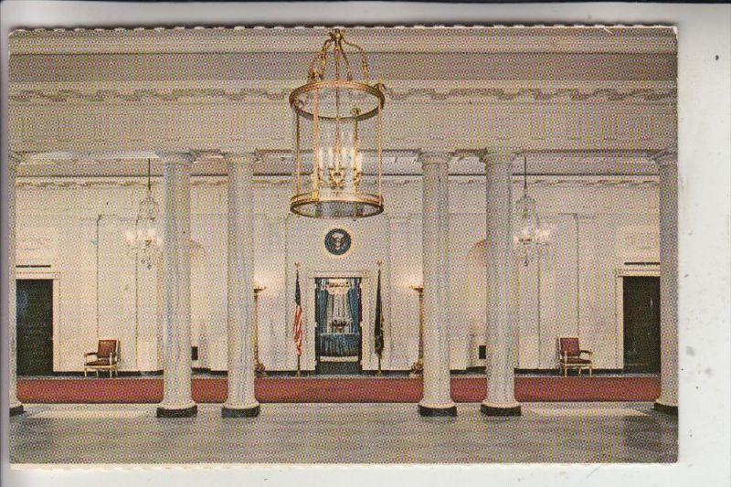 USA - WASHINGTON D.C., White House, Entrance Hall, Lampe - Lüster