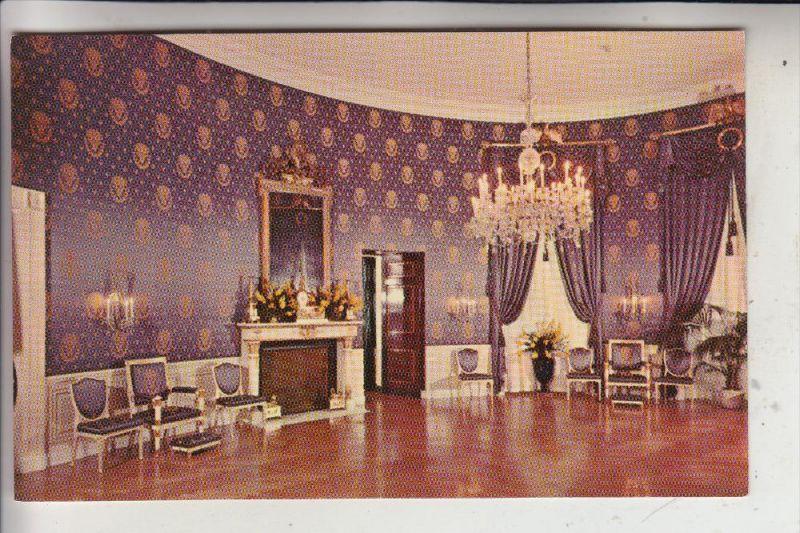 USA - WASHINGTON D.C., White House, Blue Room, Lampe - Lüster