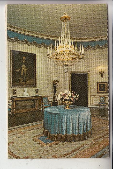 USA - WASHINGTON D.C., White House, Blue Room, Lampe - Lüster