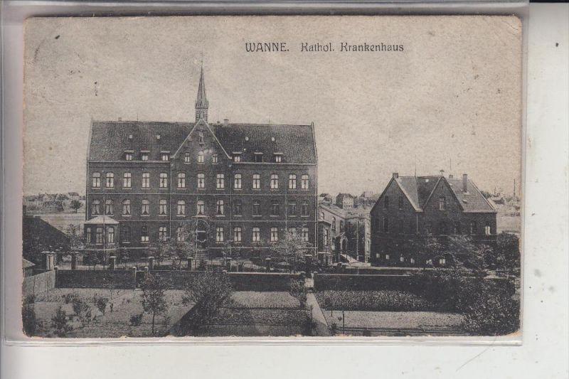4690 HERNE - WANNE, Kath. Krankenhaus, 20er Jahre