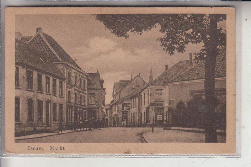 4174 ISSUM, Markt, 1920