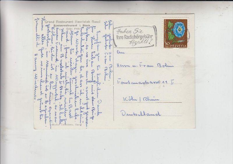 SCHWEIZ, 1958, Zumstein Pro Juventute 176, Michel  666, Einzelfrankatur