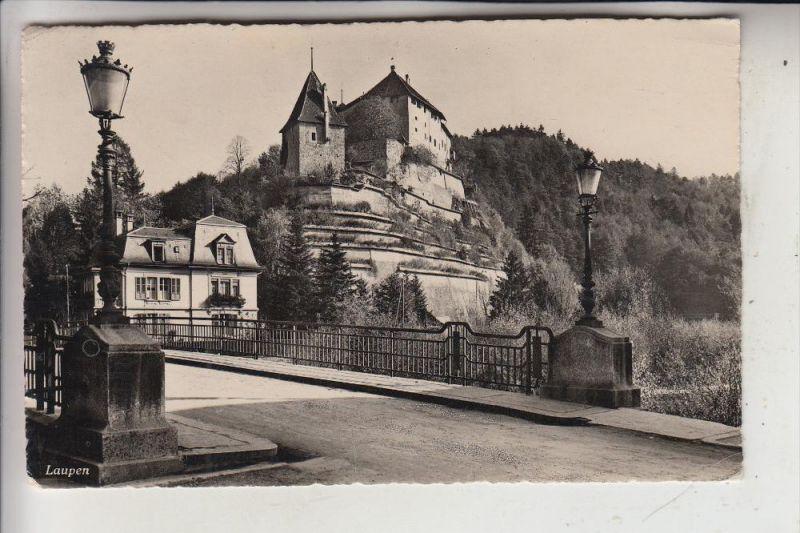 CH 3177 LAUPEN, Schloß und Umgebung, 1948