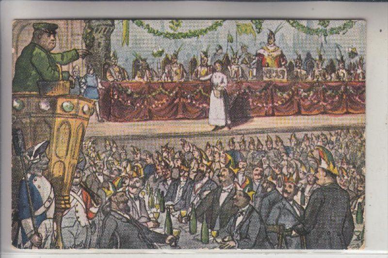 5000 KÖLN, KARNEVAL, Sitzung der Grossen Karnevalsgesellschaft, 1907