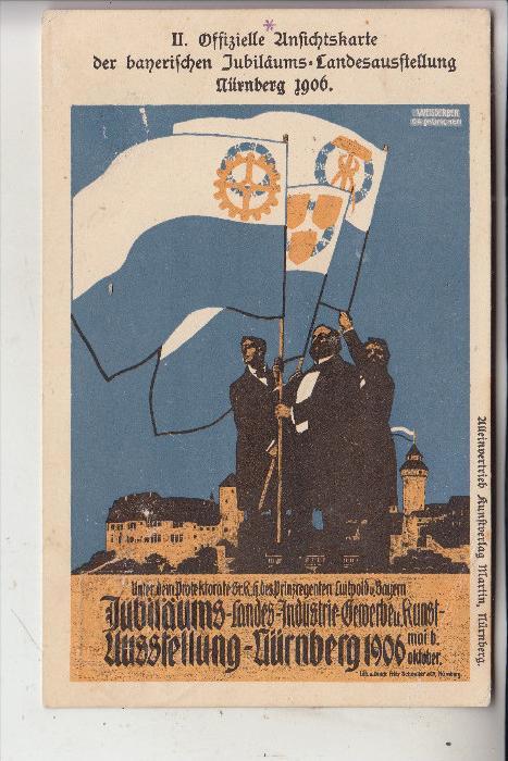 BAYERN - Privatganzsache 1906, Bayerische Jubiläums-Landesausstellung Nürnberg