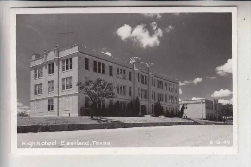 USA - TEXAS - EASTLAND, High School