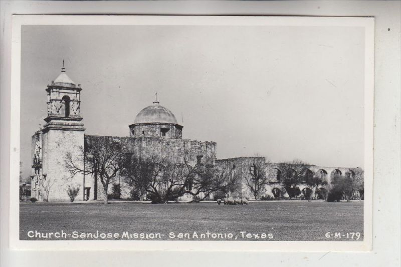 USA - TEXAS - SAN ANTONIO - Church San Jose Mission