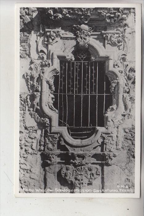USA - TEXAS - SAN ANTONIO - Church San Jose Mission, Rose Window