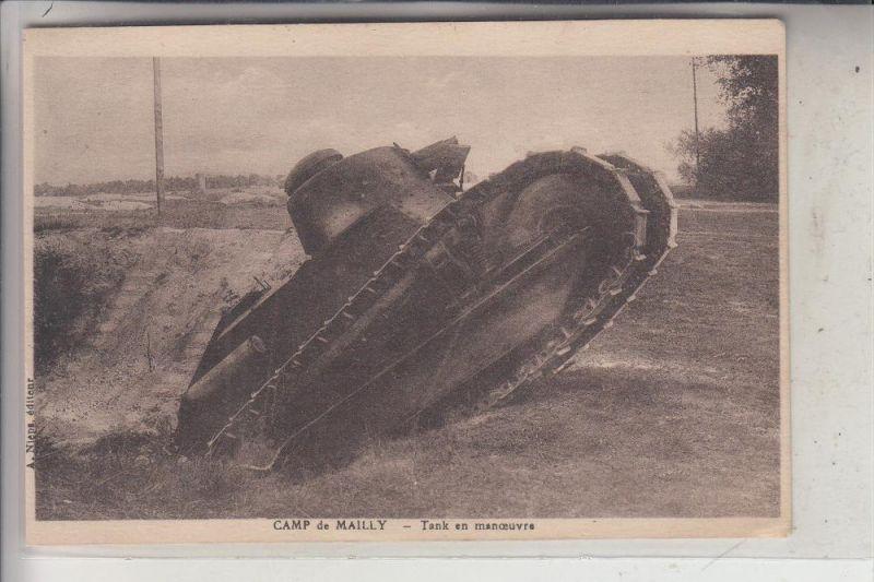 MILITÄR - PANZER / Tank / Chars / Tanque  - Franz. Kampfpanzer, 1939