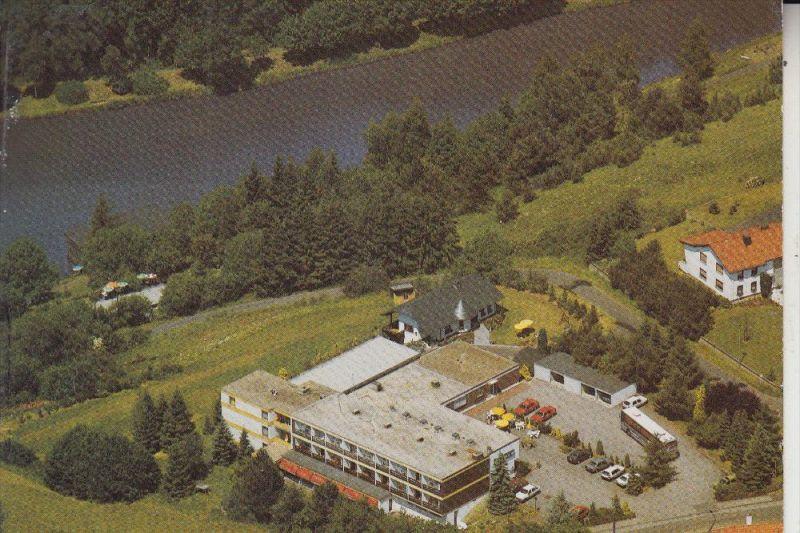 5530 GEROLSTEIN, Seehotel am Stausee, Luftaufnahme