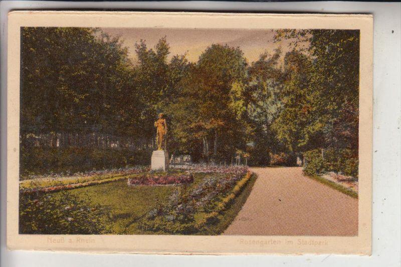 4040 NEUSS, Rosengarten Stadtpark