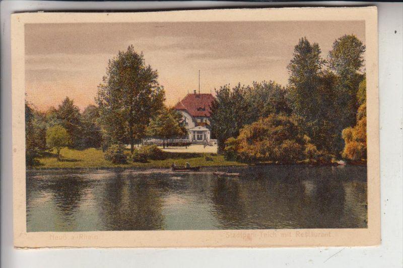 4040 NEUSS, Stadtpark-Teich, Restaurant