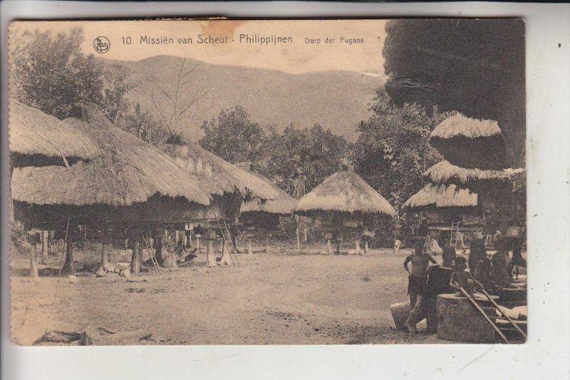PHILIPPINEN, Fuagos - Dorf, 1924,  Völkerkunde / Ethnic