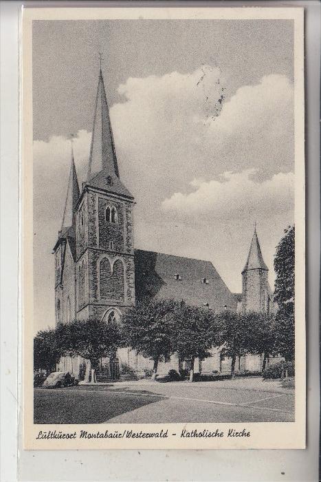 5430 MONTABAUR, Katholische Kirche, 1954