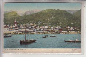 P 9000 FUNCHAL, Madeira, Panorama, 1911