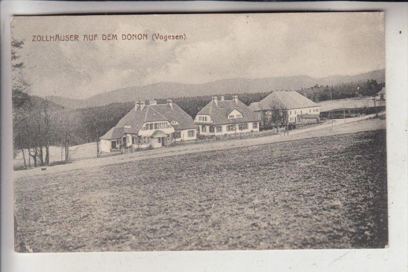 ZOLL - GRENZE, Zollhäuser auf dem Donon (Vogesen), Grenze Deutschland - Frankreich, 1916