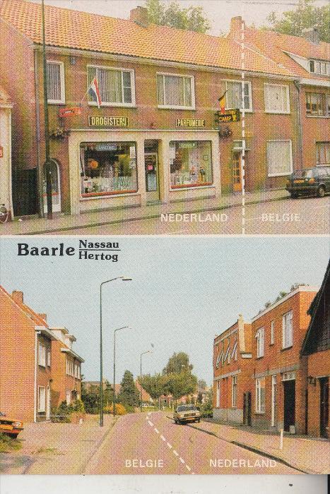 ZOLL - GRENZE, BAARLE - NASSAU / BAARLE - HERTOG, Grenze Belgien - Niederlande