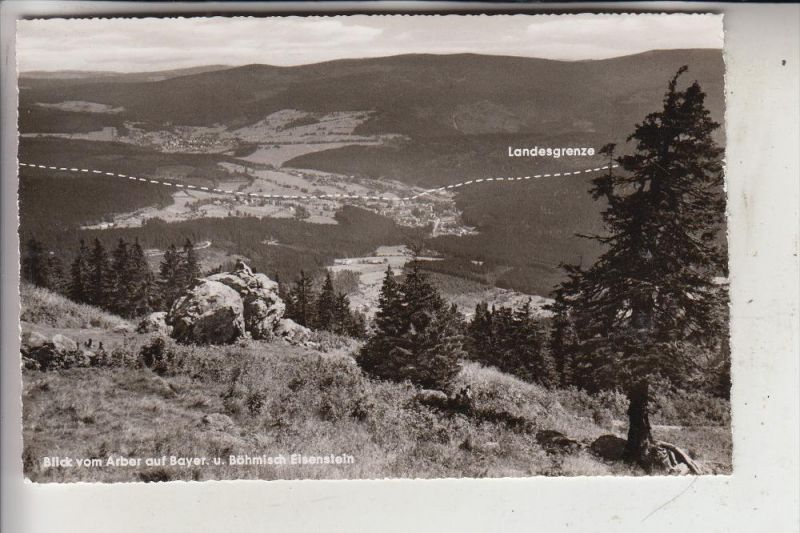 ZOLL - GRENZE, Landesgrenze Deutschland - Tschechien, Bayerisch & Böhmisch Eisenstein