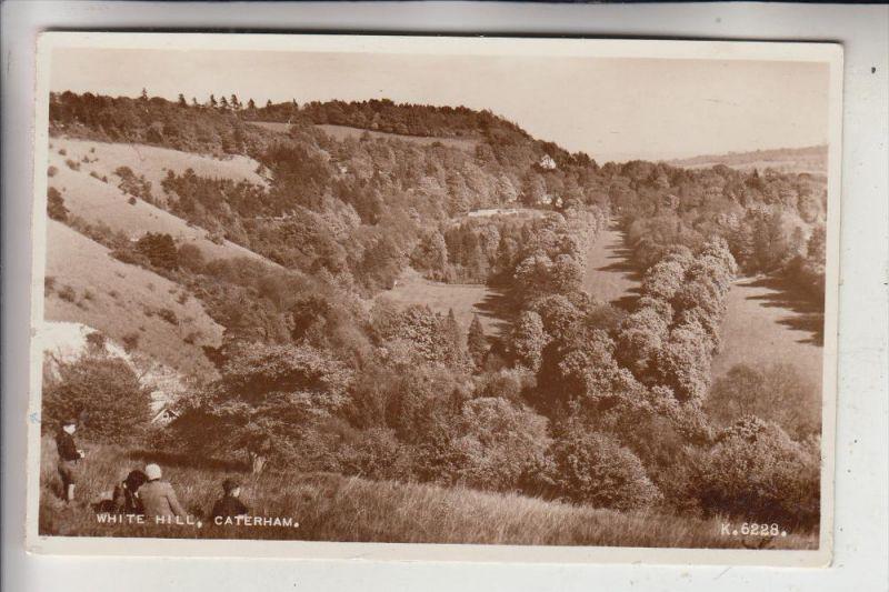 UK - ENGLAND - SURREY - CATERHAM, White Hill