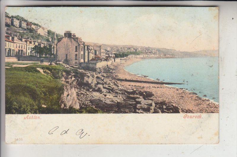 UK - SCOTLAND - RENFREWSHIRE - GOUROCK, Ashton, 1903