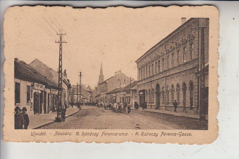 SERBIEN - NOVI SAD / NEUSALZ / UJVIDEK, Ferencz Gasse