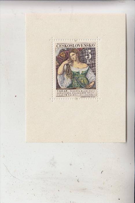 CSSR - 1965, Gemäldegalerie, Block 22 **