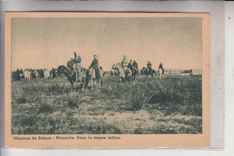 MONGOLEI, Dans la steppe infinie